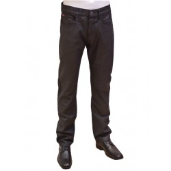 Jean Boutons Enduit Black Burn 122B LEE COOPER