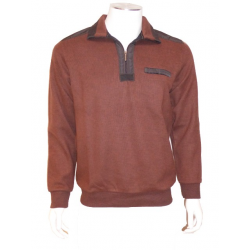 Polo Sweat Uni Rust Parker...