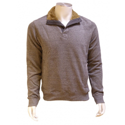 Sweat Grey Col Moumoute  LEE COOPER